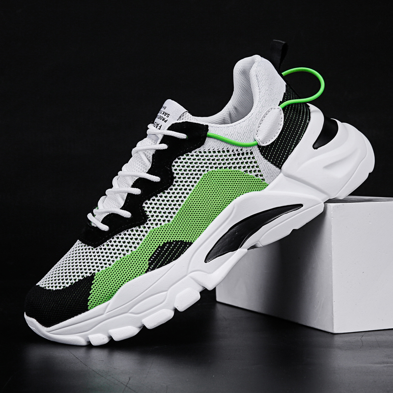 2020 Men Shoes Sneakers Breathable Lightweight Men Casual Shoes High Quality Comfortable Lace-up Mesh Shoes Fashion Footwears