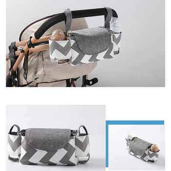 Multi-function Baby Stroller Bag Large Capacity Diaper Bags Outdoor Travel Hanging Carriage Mommy Infant Care Organizer