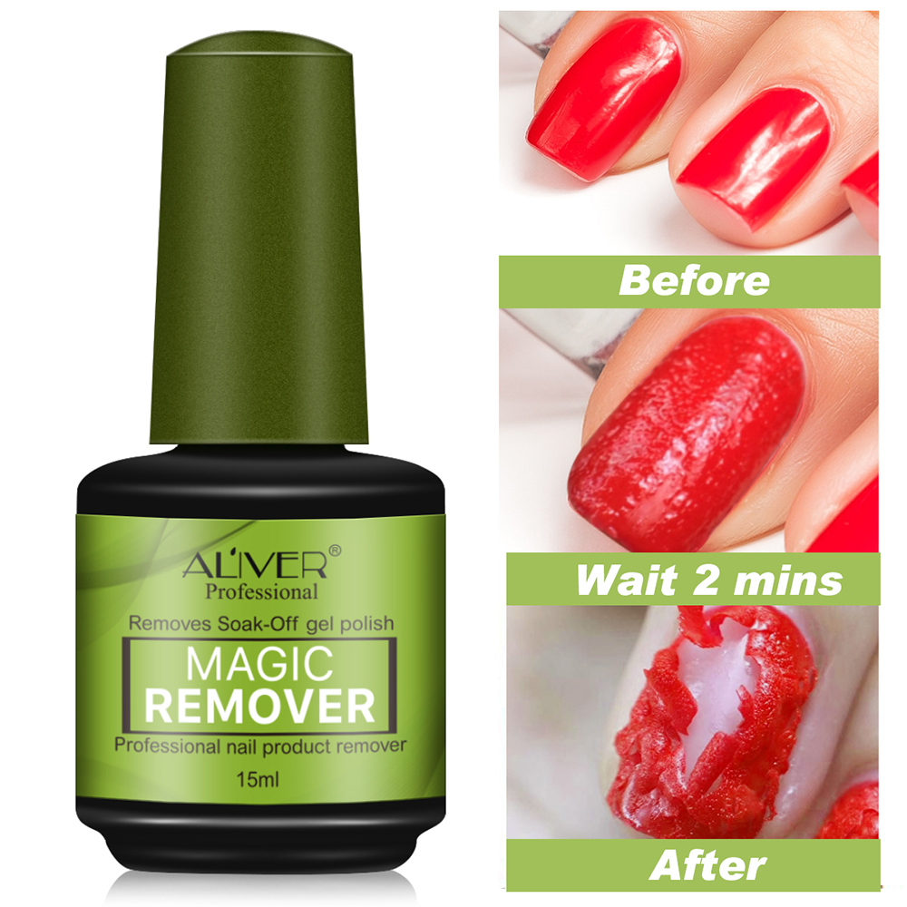 Cleanser Nail-Polish-Remover Burst-Gel Remover-2-3min Magic-Nail Healthy Soak-Off Fast