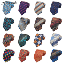 8CM Groomsmen Groom Ties Cocktail Party Wedding Gravata Gift Men's Tie Paisley Flower Necktie Business Casual Neckcloth Silk