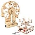 Детская игра Сделай Сам комплект колес карусель лошадка для физики научный эксперимент ствол игрушка Технология электронный строительный ...