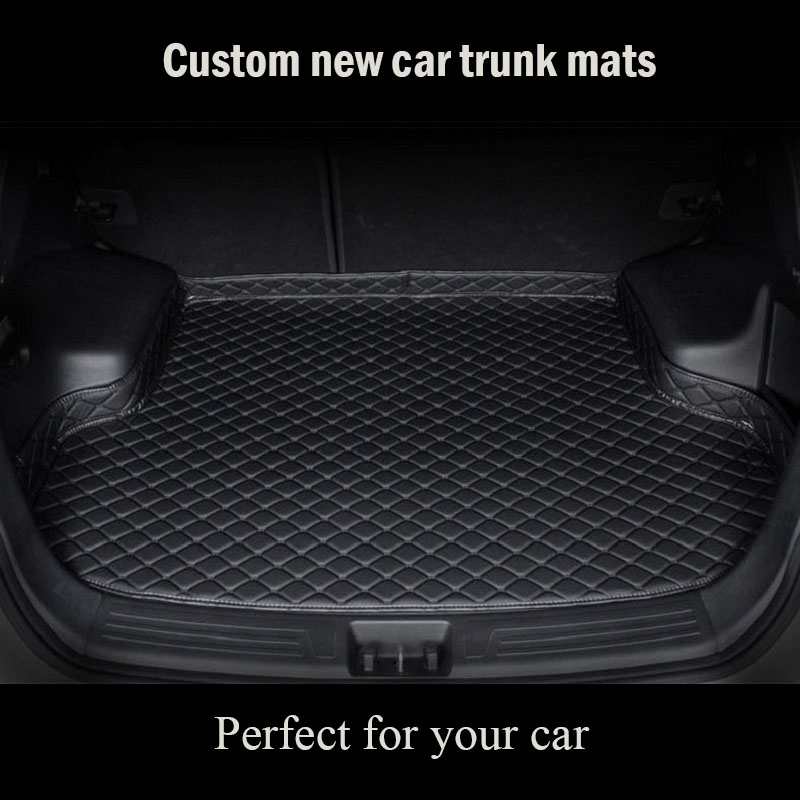 Custom Car Trunk Mat For BMW R50 R52 R53 R56 R57 R58 F55 F56 F57 2019 Floor Mats For Cars