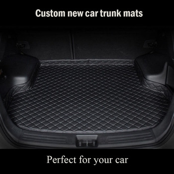 Custom car trunk mat for Hyundai matrix MPV H-1 Wagon Rohens BH330 Rohens-Coupe floor mats for cars