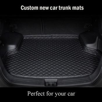 Custom car trunk mat for JEEP Grand Cherokee SRT Compass Renegade Commander Wrangler Patriot floor mats for cars