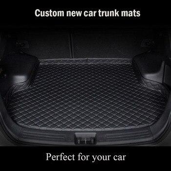Custom car trunk mat for SsangYong kyron tivoli korando rexton actyon sport floor mats for cars