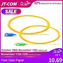 20/50/100/200PCS  SC APC Fiber Optic Pigtail Simplex 0.9mm 9/125 Single Mode 1 core SC UPC Optical Fiber Pigtail 1.5M