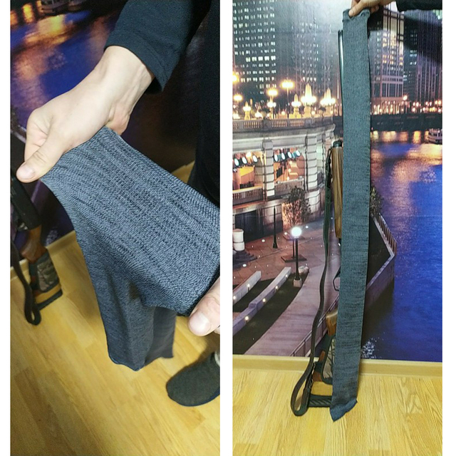 54inch Gun Sock 100% Polyester Silicone Treated Rifle Protection Cover Soft Fabric Tactical Hunting Rifle Caza Glock Accessory 6