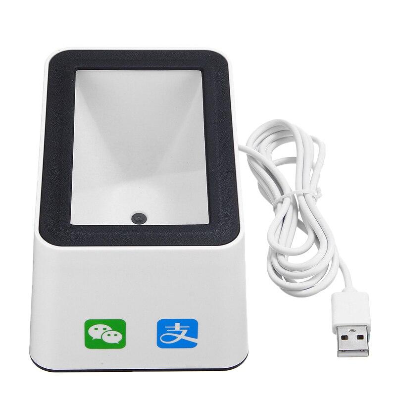 Wired Barcode Scanner USB Vielseitig Scannen Hände-freies Scan QR Code Reader für Läden Supermärkte