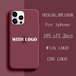 Original Official Silicone With Logo Case For iPhone 11 12 Pro X XS Max XR SE 2020 Case For iPhone 12 7 8 6 6s plus 11 Pro Case