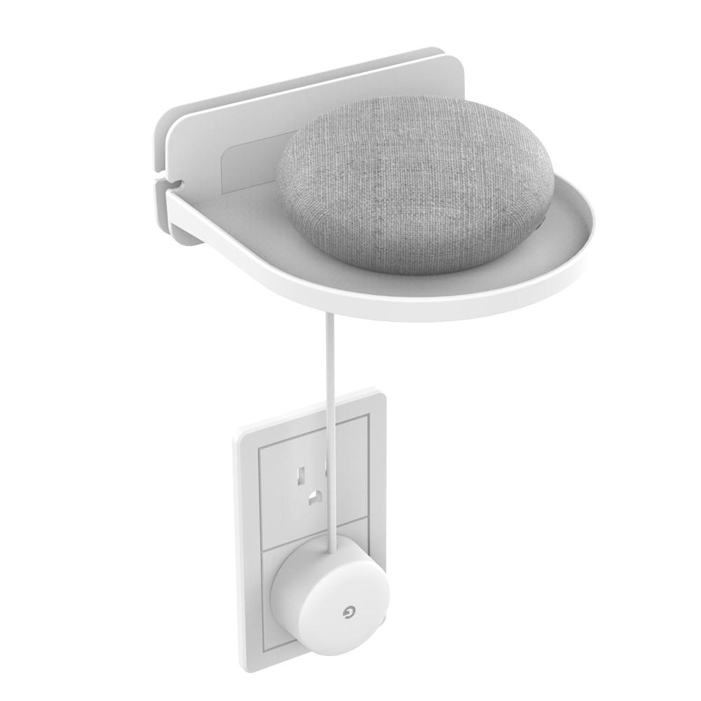 Настенная Полка Подставка для Amazon echo dot 3 echo plus Google Home Мини камеры безопасности компактное решение для умного дома