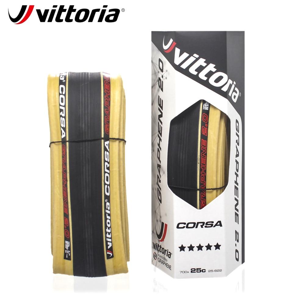Graphene clincher 700 x 23c//28c Black//Gray Sidewall Road Tires Vittoria Corsa G