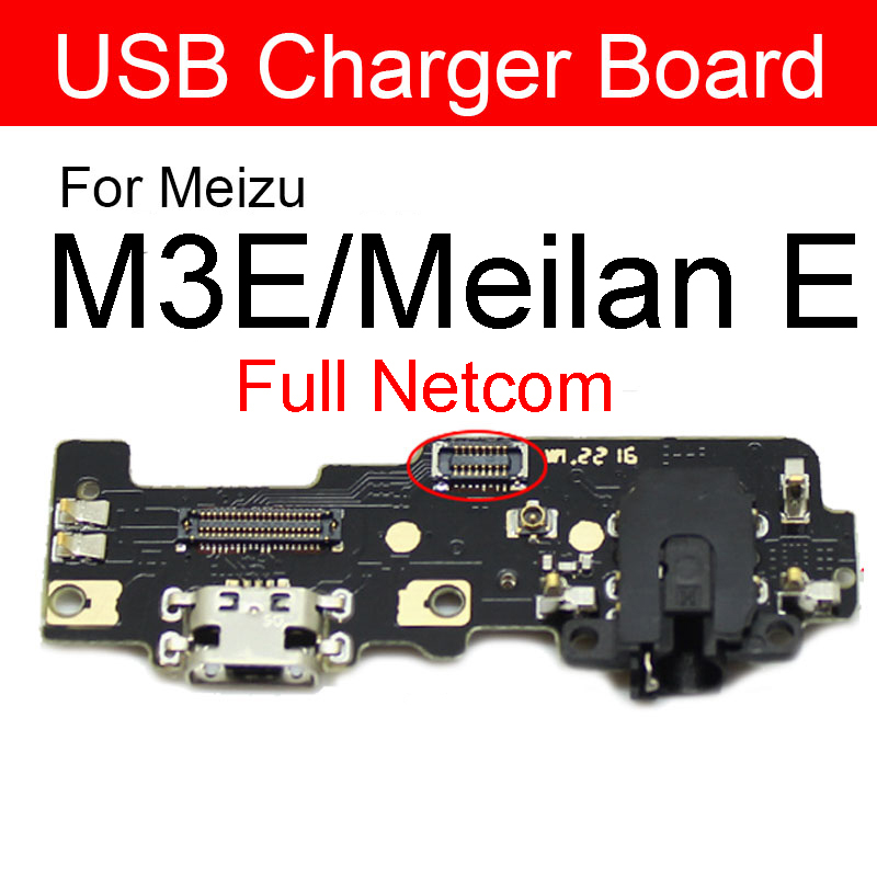 Usb Charger Board For Meizu Blue Charm E M3E A680H A680M A680Q USB Charging Jack Port Connector Board Flex Cable Repair Parts