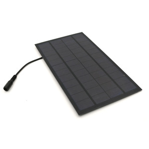 Image 4 - Solar panel 12V 7W with 5.5*2.1 DC Connector For Solar Powered Water Pump Solar Power System Cell Phone Charger DIY Toy