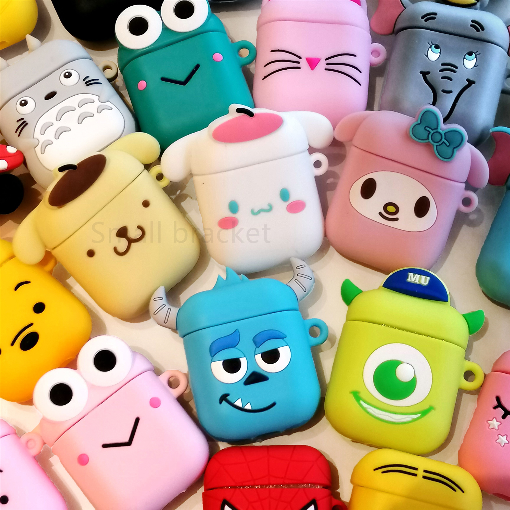 Cute Cartoon Wireless Case For Apple AirPods Silicone Charging Headphones Cases For Airpods Protective Cover