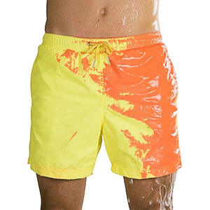 2020 Color-changing Swimming Trunks Men Swimwear Swim Shorts Men Beach Shorts Briefs Boxer Sunga Discoloration Swimsuit Men