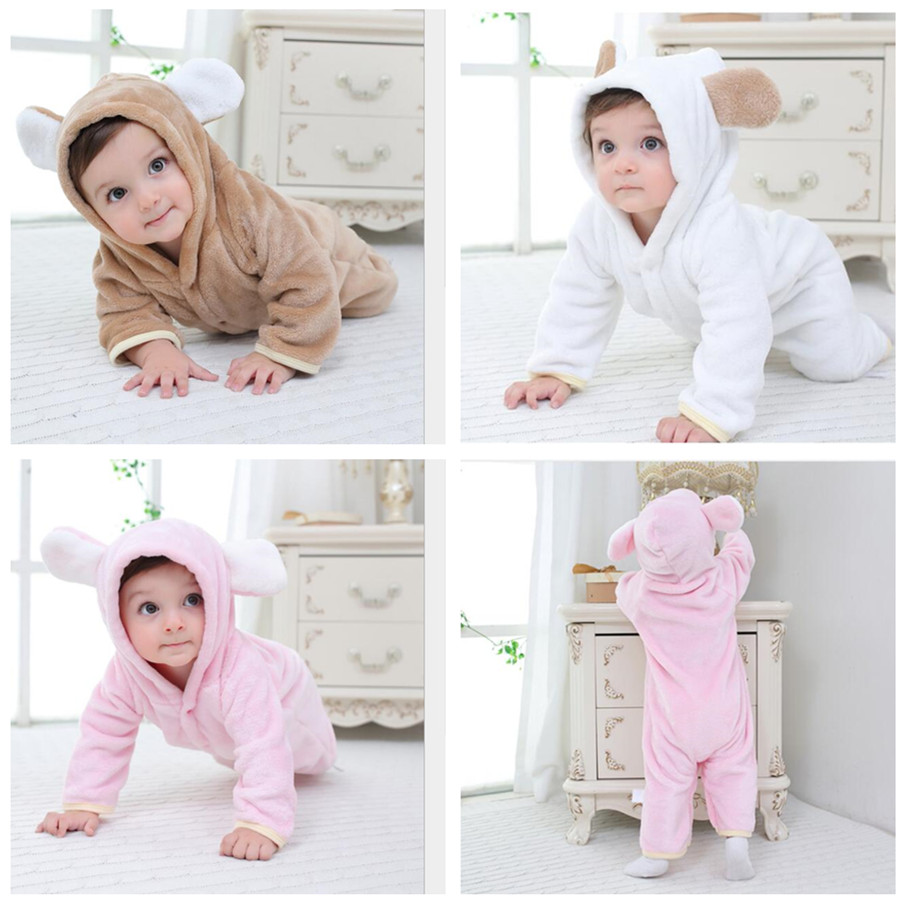 ALI shop ...  ... 33031280770 ... 5 ... Orangemom official Newborn Baby Winter Clothes Infant Baby Girls clothes soft fleece Outwear Rompers new born -12m Boy Jumpsuit ...