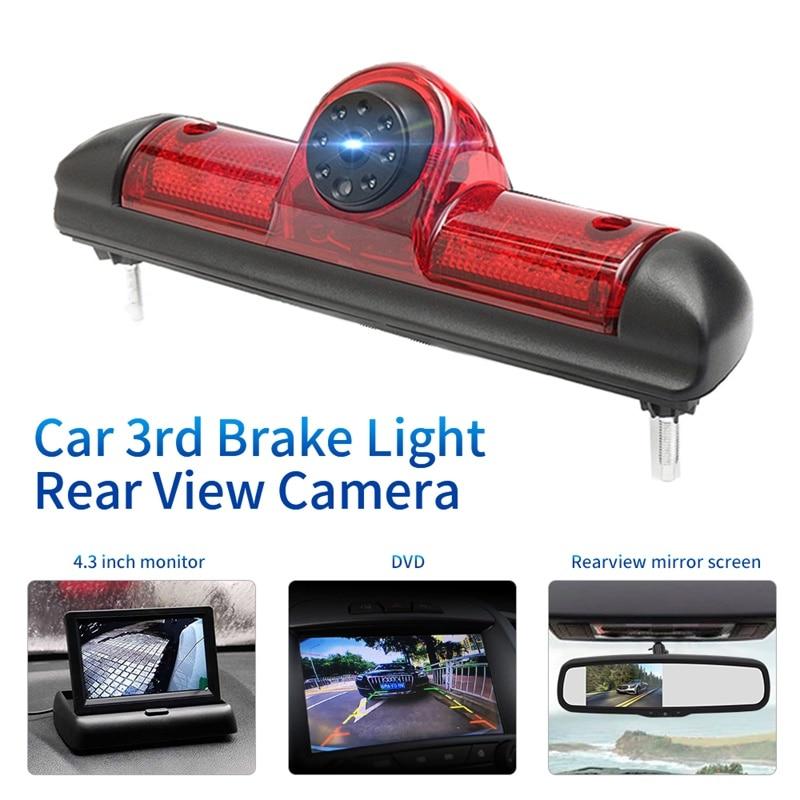 Автомобильная Водонепроницаемая светильник заднего вида с ночным видением для Fiat Ducato/Peugeot Boxer/Citroen Jumper