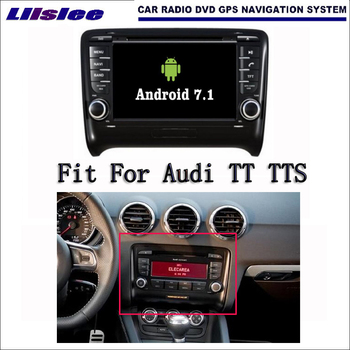Android 7.1 2G RAM For Audi TT TTS 2006~2012 Car Radio Audio Video Multimedia DVD Player WIFI DVR GPS Navi Navigation