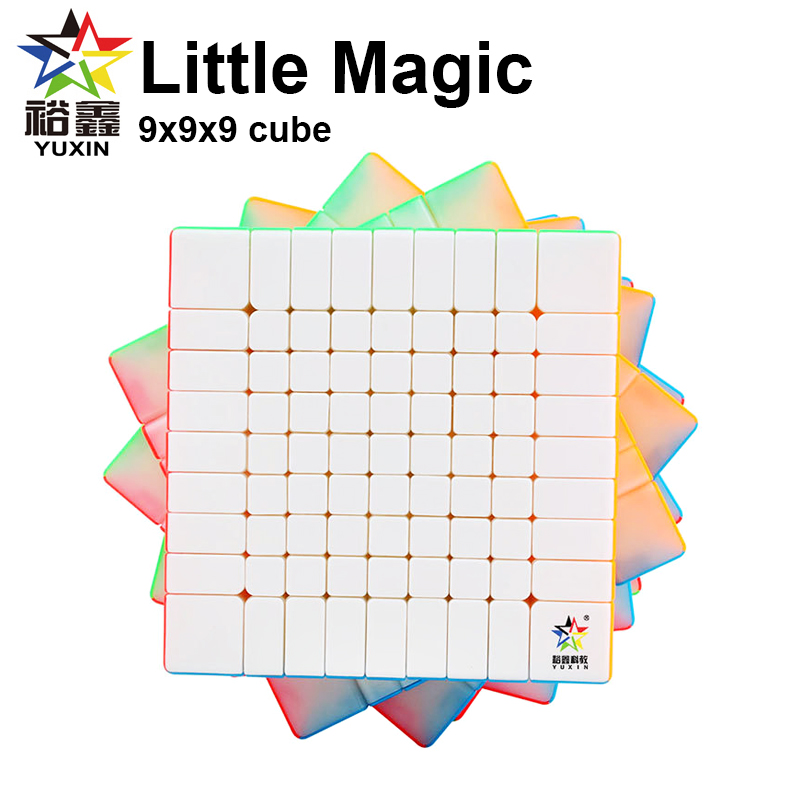 Yuxin Little Magic 9x9x9 Speed Cube stickerless Zhisheng 9x9 Puzzle Cubes Professional Cube Educational Toys For Children|Magic Cubes|   - title=