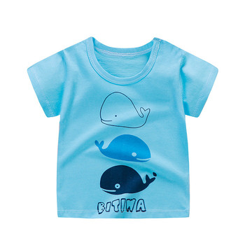boy's cotton t-shirt wales