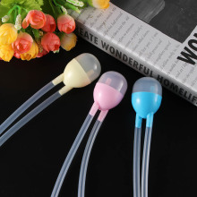 1pcs Newborn Baby Nasal Aspirator Anti Back Flow Safety Nose Cleaner Suction Device Infant Wash Your Nose Care Aspirator Tool