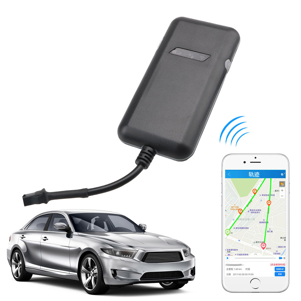 LEEPEE Anti-theft Device High Sensitivity Car <font><b>GPS</b></font> Tracker Real-time Location Tracking Intelligent Tracking Device <font><b>GT02A</b></font> Locator image
