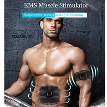 Smart Fitness Abdominal Training Electric Weight Loss Stickers Ems Trainer Muscle Stimulator Body Slimming Massager Vibro Tools ems wireless muscle stimulator smart fitness abdominal training electric weight loss stickers body slimming belt unisex