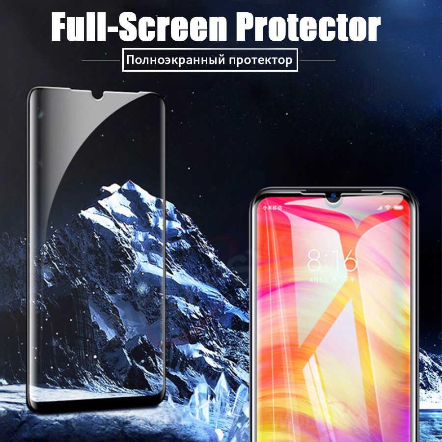 6d cobertura completa de vidro temperado para xiaomi pocofone f1 mi 9 t 8 a2 lite a3 redmi nota 9 s 8 pro max 8 t 7 k30 protetor de tela de vidro