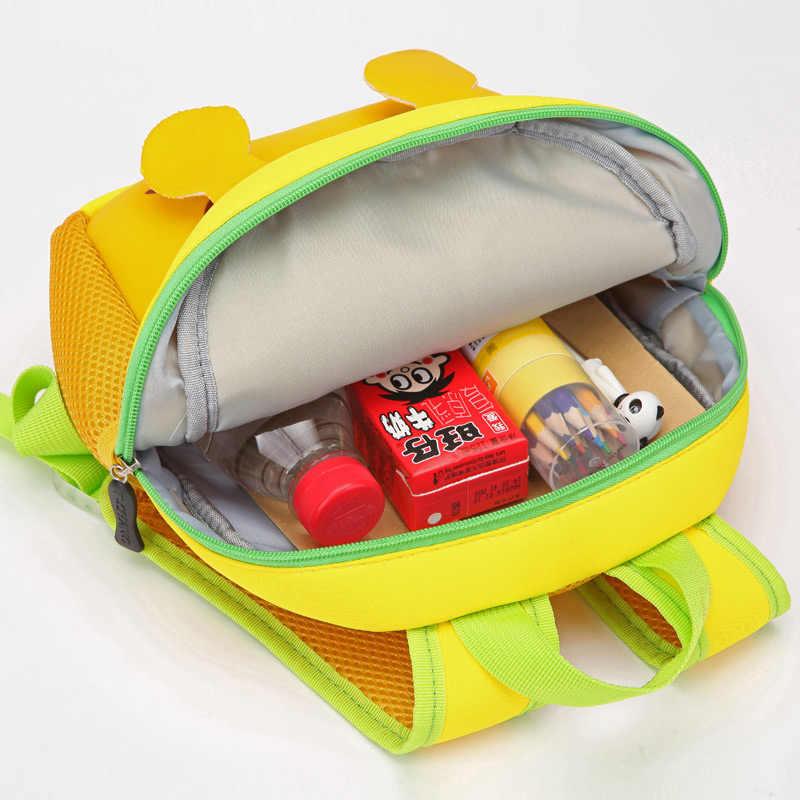 Новинка 2019 года, детские школьные сумки с объемным рисунком для девочек и мальчиков, Детские рюкзаки для детского сада, рюкзаки с рисунками животных для малышей возрастом от 2 до 5 лет