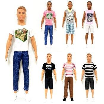 Ken el novio hecho a mano conjunto de traje de ropa para Barbie accesorios de muñeca BJD jugar vestir juguetes de los niños