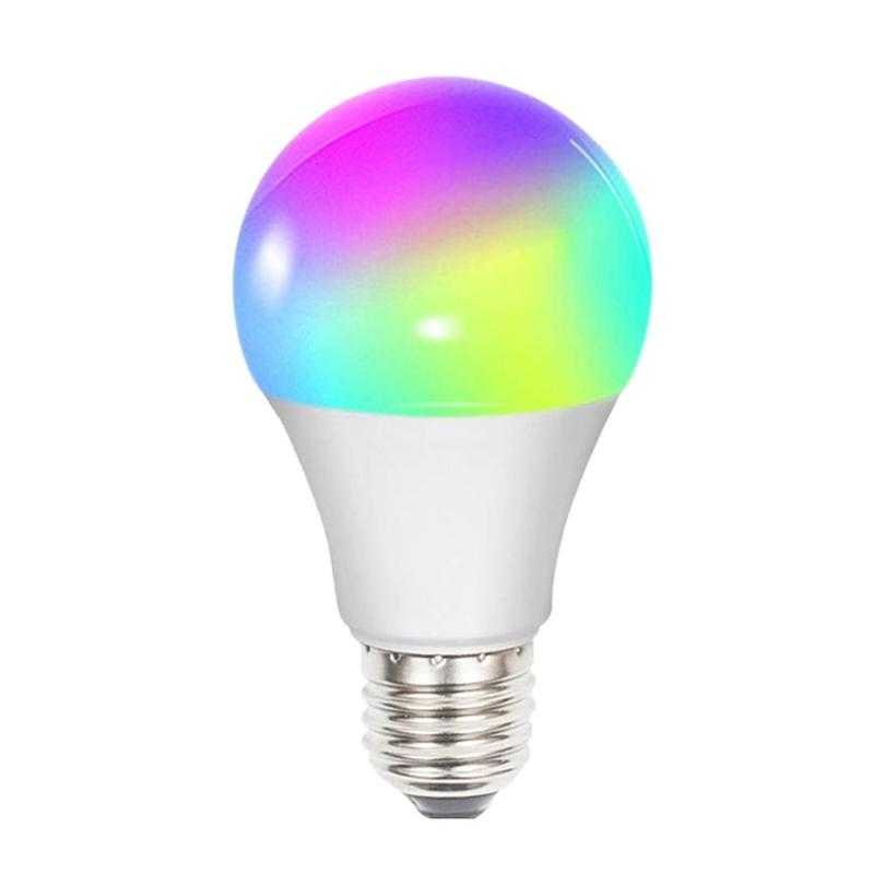 Smart E27 <font><b>LED</b></font> Light Bulb Bluetooth WiFi Connection 85-265V Magic RGB APP Voice Control Wake Up <font><b>Lamps</b></font> Compatible Alexa image