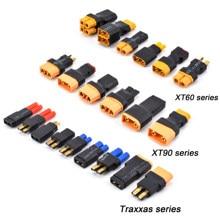 Adaptateur XT30 XT60 XT90 Traxxas T Plug Deans EC5 EC3 femelle à mâle HXT 4MM connecteurs prise RC Lipo pièces de contrôle de batterie bricolage
