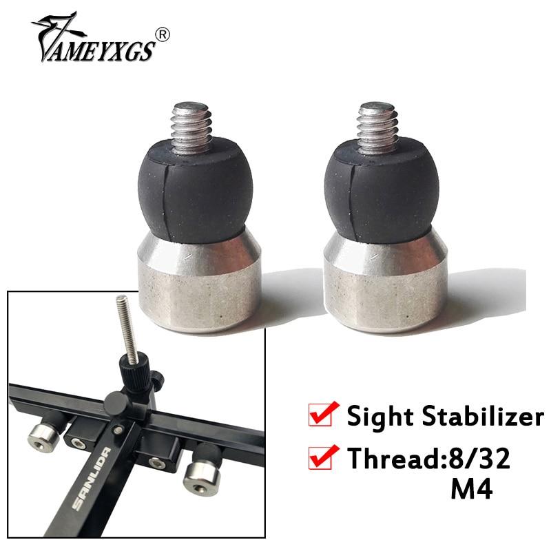 Gummi Bogenschießen Stabilisator Vibration Bogen Recurve Verbindung Absorber