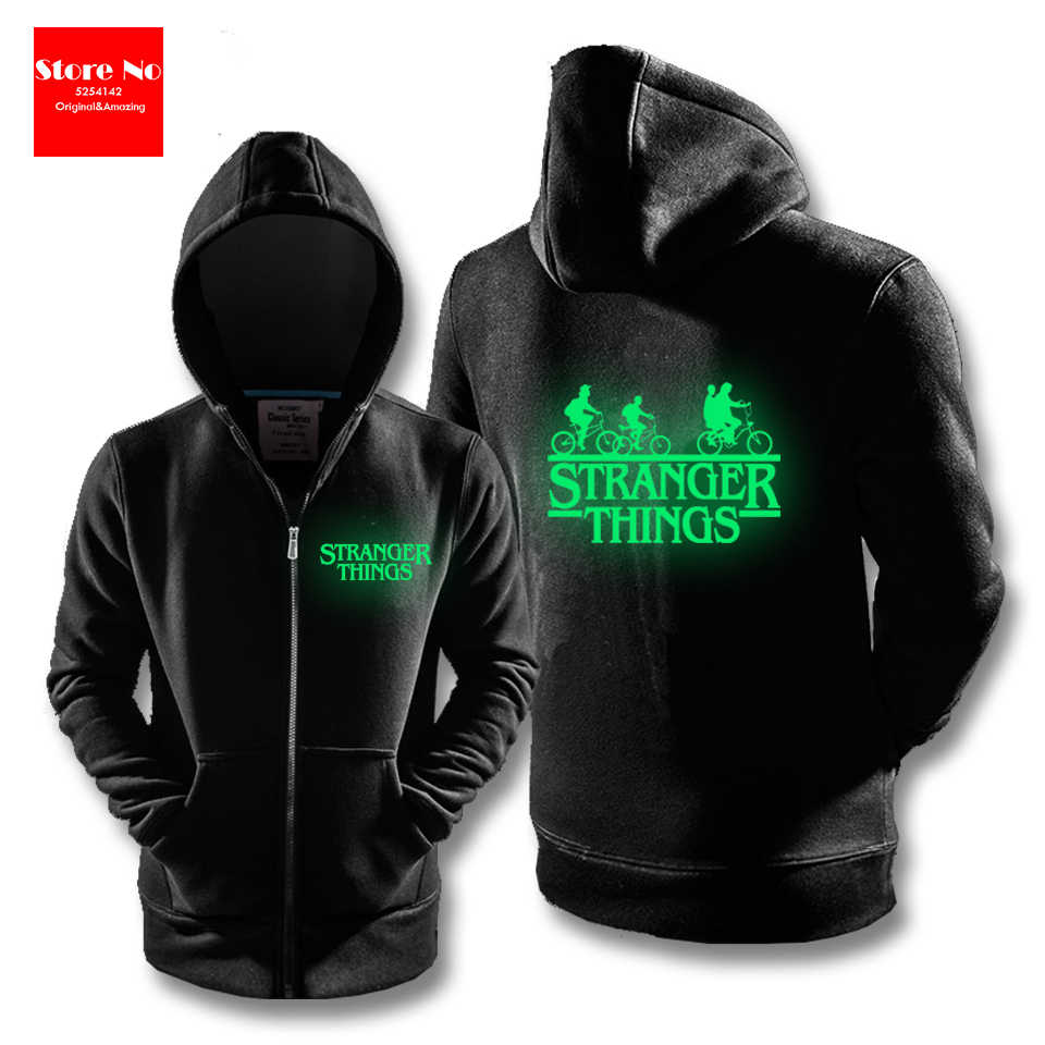 Glow Autumn Winter 3D Print Sweatshirts Stranger Things Hoodies Men Sweatshirt Women/men Casual Stranger Things Sweatshirts