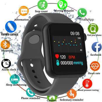 Smart Watch Waterproof Blood Pressure Monitor Smartwatch For Men Women Heart Rate Fitness Tracker Sport Watches For Android IOS smart watch p68 heart rate blood pressure monitor fitness tracker fitness bracelet for iphone android smart sport health watch