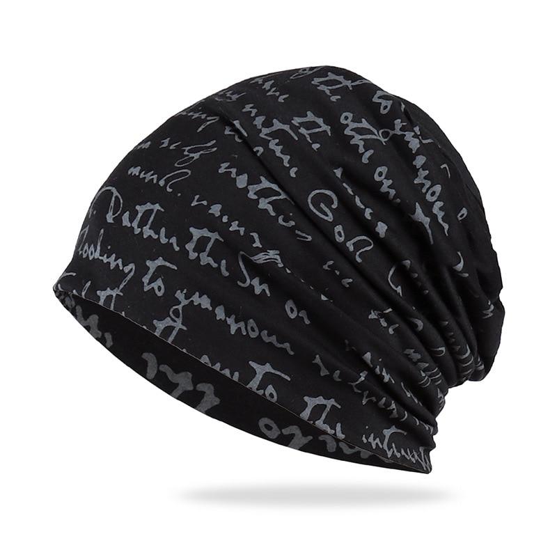American Popular Letter Cover Head Unisex Cap Hip-hop Letter Cover Head Cap Pile Bag Head Cap Snap Spring Autumn Hat Knit Hat