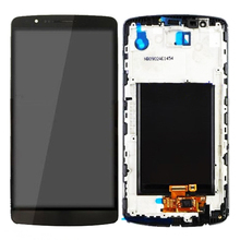 10 PCS Original  For LG G3 D850 D851 D855 LCD Display Touch Screen Digitizer 5.5 With Frame Replacement Assembly original 5 5 screen for lg g3 d850 d855 lcd display touch screen digitizer assembly replacement repair parts for lg g3 lcd