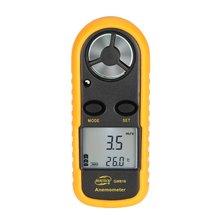 BENETECH GM816 Цифровой анемометр, термометр, скорость ветра, скорость воздушного потока, датчик температуры, ветрометр с ЖК-подсветкой, горячая распродажа