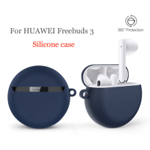 Чехол для наушников s для huawei FreeBuds 3 Чехол в китайском стиле мягкий силиконовый Противоскользящий защитный чехол
