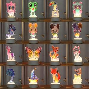 Мультяшный светодиодный декоративный светильник, лампа DIY, алмазная живопись, светильник, ночник, лампа для спальни, домашний стол, Декорати...