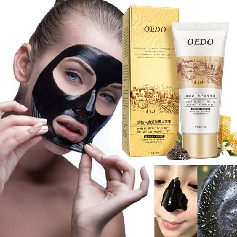 60g OEDO Face Blackhead Remover Mask Deep Cleansing Purifying the Black Head Acne Treatments Masks Facial Skin Care Facial mask