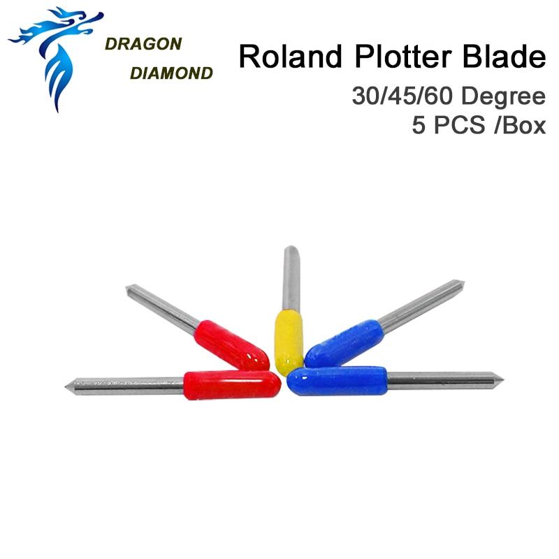 30pcs Roland BladeRoland Blade 30 درجه 45 درجه 60 درجه برای Roland Cutter Plotter Blade