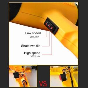 Image 3 - Pistola de aire caliente para soldar, secador de pelo con control de temperatura, soldadura de aire caliente para construcción, pistolas de calor