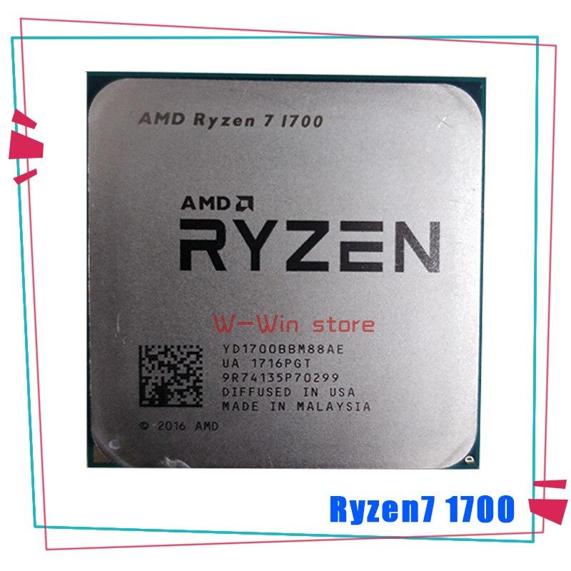 Процессор AMD Ryzen 7 1700 R7 1700 3,0 ГГц, Восьмиядерный процессор шестнадцп 65 Вт YD1700BBM88AE Socket AM4 Процессоры      АлиЭкспресс