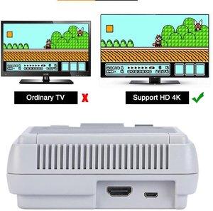 Image 3 - Intégré 621 jeux classique Super HDMI Mini Console de jeu HD 4K sortie TV lecteur de jeu portable famille TV SNES rétro jeu