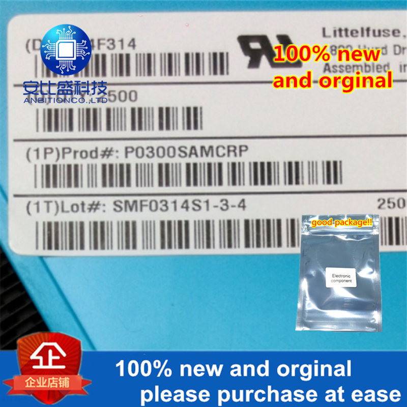 50pcs 100% New And Orginal P0300SAMC DO214AA Silk-screen P03AM  In Stock
