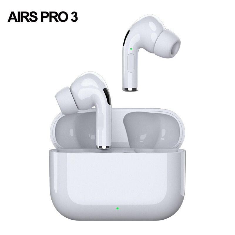 Airs pro 3 tws bluetooth наушники беспроводные наушники шумоподавление головная 3D стерео t наушники в ухо для Мобильный телефон|Наушники и гарнитуры|   | АлиЭкспресс