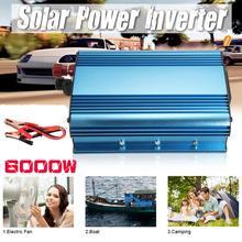 6000W Solar Power Inverter DC 12V 24V 48V 60V to AC 220V Modified Sine Wave Converter Car Power Supply Adapter Transformer