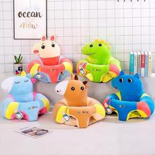 Sofa-Cover Seat Child Cotton Skin Learning-To-Sit Baby Nursing Cartoon Cute
