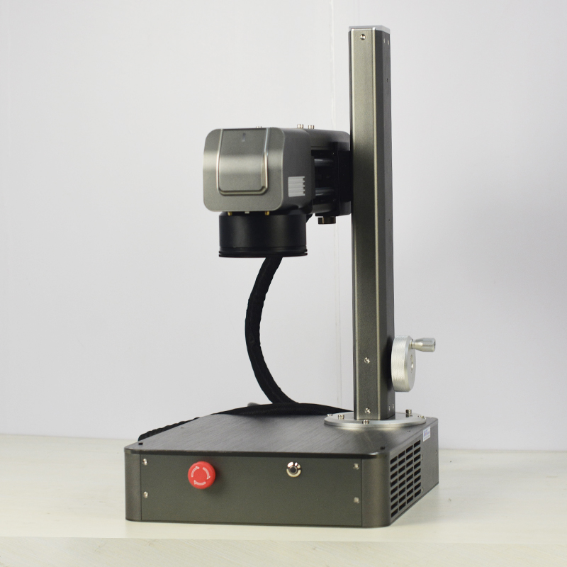20W Mini Metal i tworzywo sztuczne laserowa maszyna do grawerowania metali z wewnętrznym systemem komputerowym o wadze 16KG
